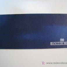 Documentos bancarios: TALONARIO DE CHEQUES DEL BANCO DE BILBAO. Lote 11273353