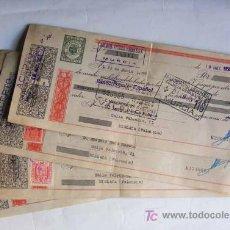 Documentos bancarios: LOTE DE LETRAS DE CAMBIO 18 LETRAS. Lote 14742618