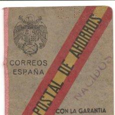 Documentos bancarios: CAJA POSTAL DE AHORROS. Lote 25436944