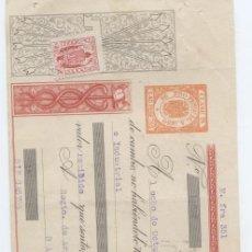 Documentos bancarios: LETRA DE CAMBIO. MADRID. BARBASTRO. ZARAGOZA. 1942. Lote 18836540