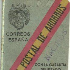Documentos bancarios: CARTILLA CAJA POSTAL AHORROS 1909. Lote 19556419