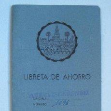 Documentos bancarios: LIBRETA DE AHORRO MONTE DE PIEDAD Y CAJA DE AHORROS DE CORDOBA AÑO 1966. Lote 19755874
