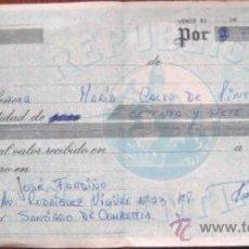 Documentos bancarios: LETRA DE CAMBIO ARGENTINA. EMITIDA EN ESPAÑA. MUY RARA¡¡ ENVIO GRATIS¡¡¡. Lote 19801723