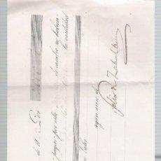 Documentos bancarios: LETRA DE CAMBIO POR 2.000 REALES DE VN. SEVILLA 1853.. Lote 22354932