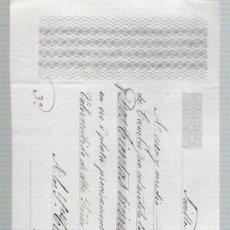 Documentos bancarios: LETRA DE CAMBIO POR 231 LIBRAS ESTERLINAS 12 SUELDOS Y NUEVE DIN. SEVILLA 1850. PAGADERA EN LON-. Lote 22378023