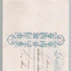 Documentos bancarios: LETRA DE CAMBIO POR 305 LIBRAS ESTERLINAS. SEVILLA 1857. PAGADERA EN LONDRES.. Lote 22378039