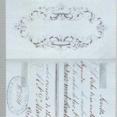 Documentos bancarios: LETRA DE CAMBIO POR 10.000 REALES DE VN. SEVILLA 1857. PAGADERA EN BILBAO.. Lote 22378051