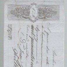 Documentos bancarios: LETRA DE CAMBIO POR 12.545 REALES DE VN.Y 17 MARAVEDICES. BURDEOS 1850. PAGADERA EN SEVILLA -. Lote 22391354