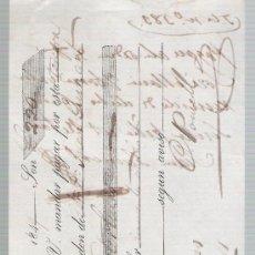 Documentos bancarios: LETRA DE CAMBIO POR 220 LIBRAS ESTERLINAS. SEVILLA 1849. PAGADERA EN LONDRES.. Lote 22393002