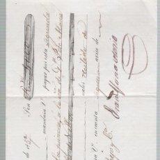 Documentos bancarios: LETRA DE CAMBIO POR 4.000 REALES DE VN. SEVILLA 1857. PAGADERA EN VALENCIA.. Lote 22393071