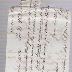 Documentos bancarios: LETRA DE CAMBIO MANUSCRITA POR 962 PESOS FUERTES Y CINCO REALES EN ORO O PLATA.REMESCHEID 1850-. Lote 22394157
