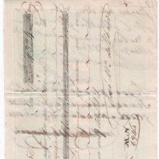 Documentos bancarios: LETRA DE CAMBIO POR 4.324 REALES DE VN.Y 16 MAR. SEVILLA 1850. PAGADERA EN ALBURQUERQUE. MEM-. Lote 22394872
