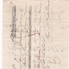 Documentos bancarios: LETRA DE CAMBIO POR 3.919 REALES DE VN.Y 14 MAR. SEVILLA 1849. PAGADERA EN OLIVENZA. MEMBRETE -. Lote 22394999