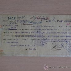 Documentos bancarios: LETRA DE CAMBIO. BOGOTA 1930. HENRI DESTE.. Lote 47980792