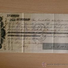 Documentos bancarios: LETRA DE CAMBIO. SAN JOSE DE COSTA RICA 1896. ADRIAN COLLADO.. Lote 90490488