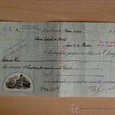 Documentos bancarios: LETRA DE CAMBIO. HABANA 1927. N. GELATS Y CIA.. Lote 22906714