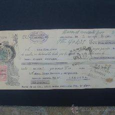 Documentos bancarios: LETRA DE CAMBIO EXPEDIDA EN BOLLULLOS EL 29-II-1932. DIM.- 29X11,5 CMS.. Lote 27981007