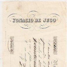 Documentos bancarios: MADRID 1850. LETRA DE CAMBIO A ANTONIO CLEMENTE PACHECO (MÉRIDA). Lote 28273658