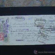 Documentos bancarios: LETRA DE CAMBIO EXPEDIDA EL 8-IX-1934. DIM.- 29X11,750 CMS. EN . . Lote 29615011