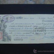 Documentos bancarios: LETRA DE CAMBIO EXPEDIDA EN MADRID EL 20-X-1934. DIM.- 29X11,750 CMS. EN . . Lote 29616083