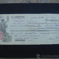Documentos bancarios: LETRA DE CAMBIO EXPEDIDA EN MADRID EL 28-IV-1934. DIM.- 29X11,750 CMS. EN .. Lote 29618197