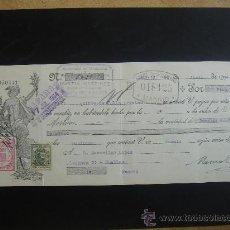 Documentos bancarios: LETRA DE CAMBIO EXPEDIDA EN MADRID ABRIL DEL 1934. DIM.- 29X11,750 CMS. . Lote 29639250
