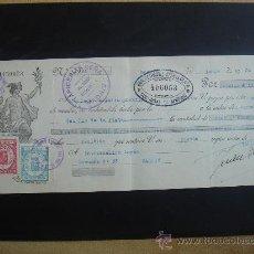 Documentos bancarios: LETRA DE CAMBIO EXPEDIDA EN MADRID EN JUNIO DEL 1934. DIM.- 29X11,750 CMS. EN . I. Lote 29640017