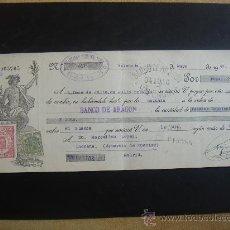 Documentos bancarios: LETRA DE CAMBIO EXPEDIDA EN MADRID EL 11-V-1934. DIM.- 29X11,750 CMS. EN . . Lote 29640024