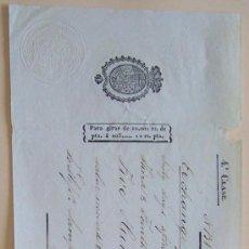Documentos bancarios: HABANA 1839 CUBA ** ANTIGUA LETRA DE CAMBIO ** A LONDRES * MANUSCRITA EN INGLES. Lote 30324006