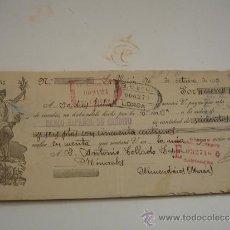 Documentos bancarios: LETRA DE CAMBIO MURCIA LA UNION LORCA ECTR.. TOTAL 17 UNIDADES. Lote 31161000