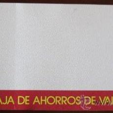 Documentos bancarios: CHEQUERA DE LA CAJA DE AHORROS DE VALENCIA - COMPLETA. Lote 32299366