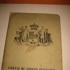 Documentos bancarios: LIBRETA DE AHORRO ORDINARIO CAJA DE AHORROS DE ASTURIAS 1959. Lote 33998239