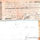 Documentos bancarios: 1845.- LETRA 1ª DE CAMBIO, EMITIDA EN IRUN A PAGAR EN MADRID POR