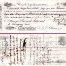 Documentos bancarios: FRANCIA 1805.-DOS LETRAS 1ª Y 2ª DE CAMBIO EMITIDA EN MARSELLA Y PAGAR EN BARNA POR 250 PISTOLES. Lote 37264629