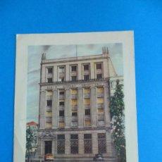 Documentos bancarios: FELICITACIÓN NAVIDEÑA - BANCO HISPANO AMERICANO - AÑO 1956. Lote 37537145