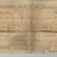 Documentos bancarios: LETRA DE CAMBIO. LIBRADOR: GUTIÉRREZ HERMANOS. LIBRADO: PRUDENCIO NORIEGA. JEREZ. CÁDIZ. 1892. Lote 38086430