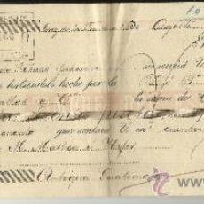 Documentos bancarios: LETRA DE CAMBIO. LIBRADOR: GUTIERREZ HERMANOS. LIBRADO: M. MATHEU E HIJOS. JEREZ. CÁDIZ. 1895. Lote 38090526