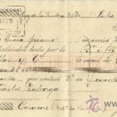 Documentos bancarios: LETRA DE CAMBIO. LIBRADOR: GUTIÉRREZ HERMANOS. LIBRADO: CARLOS ZULOAGA. JEREZ. CÁDIZ. 1895. Lote 38094629