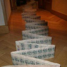 Documentos bancarios: LETRA DE CAMBIO DE 15,24 METROS. LA MÁS LARGA CONOCIDA. 1768 SELLOS FISCALES. AÑO 1973. VER FOTOS.. Lote 38410416