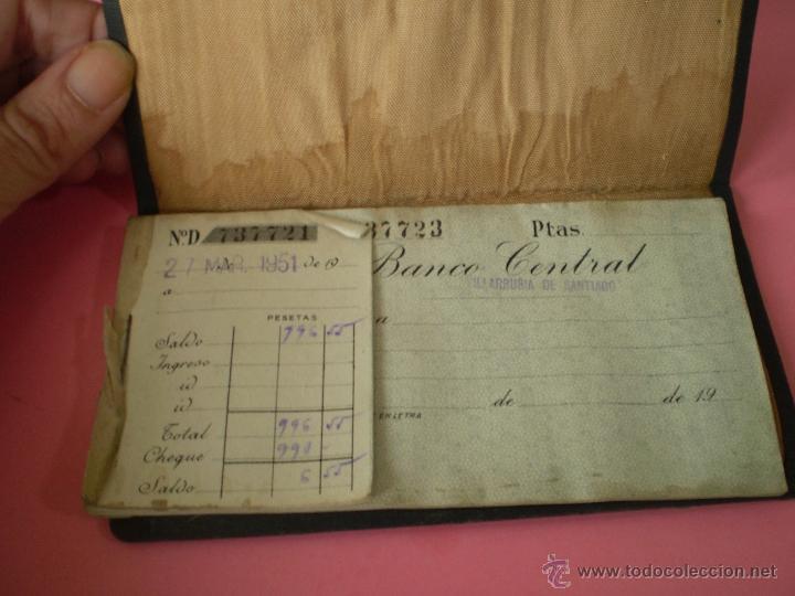 Documentos bancarios: CHEQUES DEL BANCO CENTRAL 1951 - Foto 2 - 40222528
