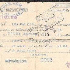 Documentos bancarios: LETRA DE CAMBIO LIBRADA POR MANUEL OBACH DE BELLVER AÑO 1930. Lote 41772329