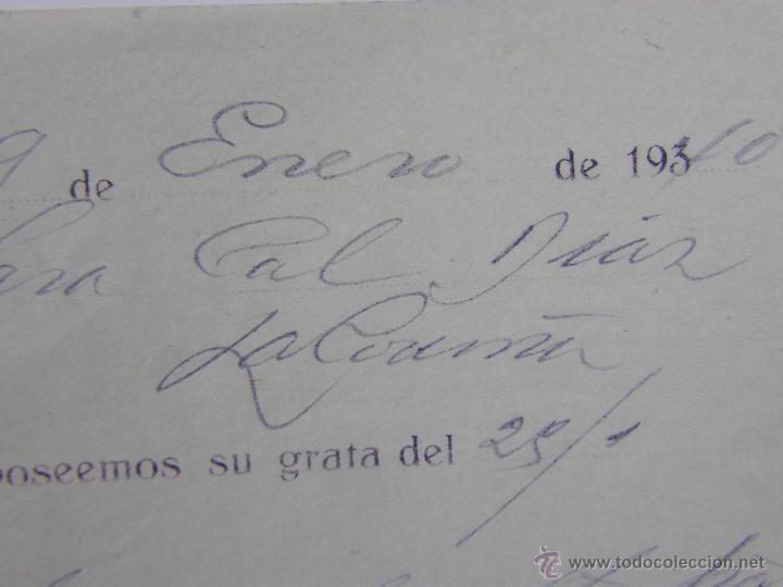 Documentos bancarios: Resguardo Banco central Alcalá 51 Madrid 4000 pesetas Enero 1940 abono en cuenta - Foto 2 - 42967183