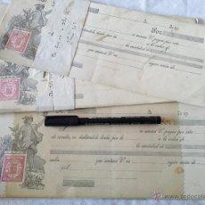 Documentos bancarios: LOTE DE 40 LETRAS DE CAMBIO EN BLANCO. REPÚBLICA ESPAÑOLA.. Lote 43351449