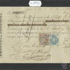 Documentos bancarios: VICH - ANA CALLIS - AÑO 1876 - LETRA DE CAMBIO - (V-1893). Lote 47281575