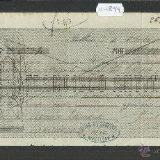 Documentos bancarios: BILBAO - FRANCISCO ANTIN - AÑO 1874 - LETRA DE CAMBIO - (V-1894). Lote 47281604
