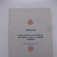 Documentos bancarios: CAJA DE PENSIONES PARA LA VEJEZ Y DE AHORROS.CREDITOS ESPECIALES A LOS FUNCIONARIOS 1958.. Lote 48375923