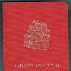 Documentos bancarios: CARTILLA BANCO CENTRAL CAJA DE AHORROS 1985 ANTIGUA RARA CURIOSA COLECCIONISTA. Lote 49638755