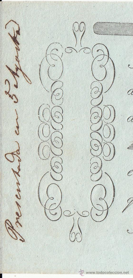 Documentos bancarios: LETRA DE CAMBIO AÑO 1861 EXPEDIDA EN SANT PERE RIUDAVITLLES A MARTI I ORDEIG DE REUS POR 503 DUROS - Foto 2 - 50027725