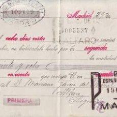 Documentos bancarios: LETRA DE CAMBIO AÑO 1930.. Lote 50548553