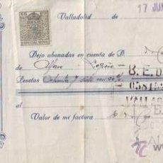 Documentos bancarios: LETRA DE CAMBIO AÑO 1930.. Lote 50548574